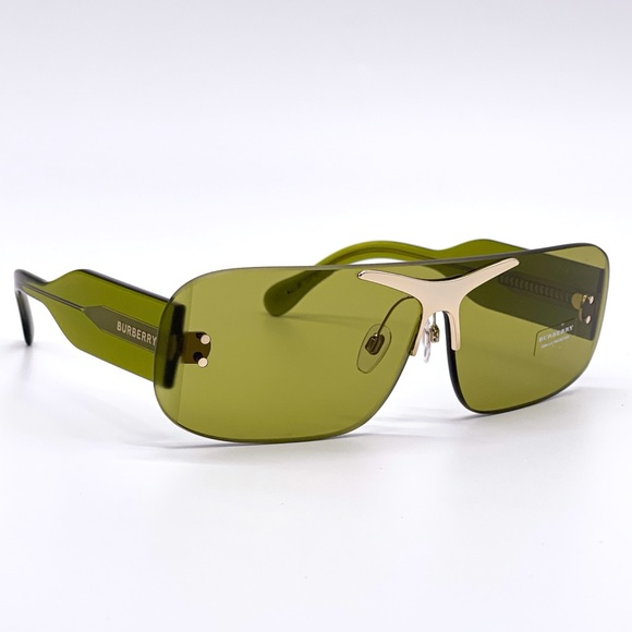 NEW BURBERRY BE3123 3917 GREEN SUNGLASSES BE 3123